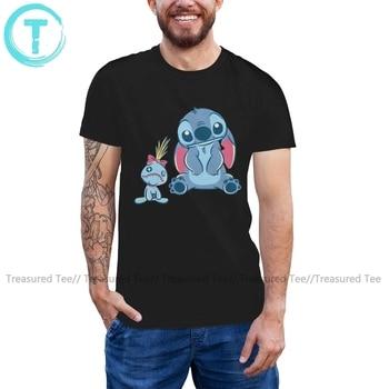 Stitch Lilo T Shirt Lilo Stich Stitch Scrump T-Shirt Awesome Summer Tee Shirt Mens Short Sleeve Tshirt made in 87 mens t shirt 13 colours 29th birthday present gift 1987 print t shirt mens short sleeve hot tops tshirt