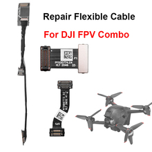 For DJI FPV Combo GPS Flexible Cable Gimbal Signal Cable ESC Board Cable Gimbal Coaxial Cable Drone Repair Replacement Accessory