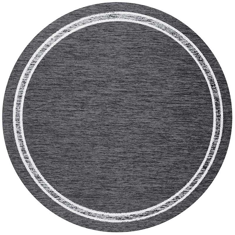 Скандинавский современный ковер гостиная круглый ковер простые одноцветные Коврики Спальня прикроватный коврик домашний стул для прихожей круглый коврик игровой коврик
