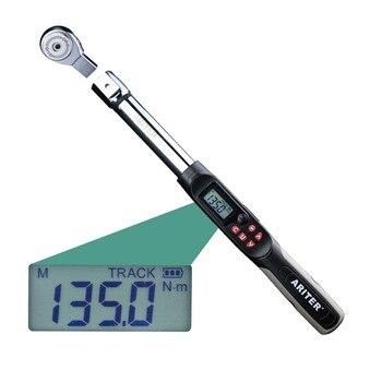 ARITER цифровой динамометрический ключ 1-340NM Голову можно заменить универсальный точная крутящий момент гаечный ключ многоцелевой ремонт авто...
