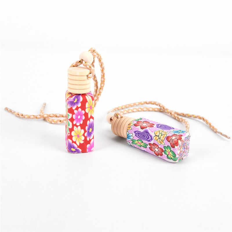 Aardewerk parfum lege fles Opknoping Auto Luchtverfrisser fles Heet verkoop 1pc Parfum Diffuser Geur Fles