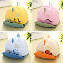 Summer Baby Baseball-Cap Dinosaur Toddler Boy Kids Caps Sun-Hat Girl Cotton Cartoon Adjustable