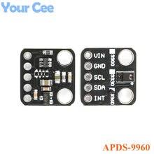 Apds 9960 módulo de sensor apds9960 rgb colorido gesto módulo pcb placa eletrônica diy GY-9960-LLC para arduino