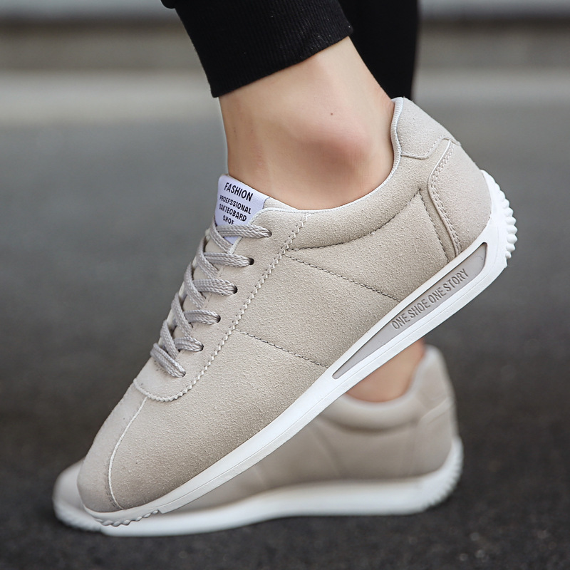 New 2020 White Leather Man Sneakers Men Sports Shoes Men Sport Shoes Men's Running Shoes Athletic Gym Jogging S Zapatos Hombre