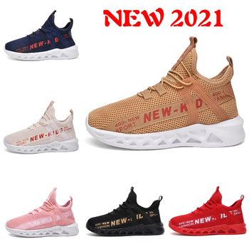 NEW children sports shoes brand sneakers for kids boys Breathable running shoes  toddler girls fashion shoes autumn 2021 2018 spring autumn new brand cartoon children sneakers sports running led lighted shoes kids cool cute boys girls shoes