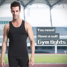 Mens Compression Fitness Tights Running Set Wicking Sport Suit Sleeveless Vest T-Shirt+Pant Tracksuit Gym MenS Sportswear