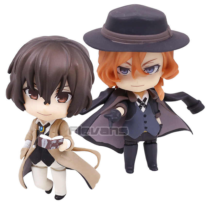Bungo Anjing Liar Nakahara Chuya 676 Dazai Osamu 657 PVC Action Figure Collectible Model Mainan