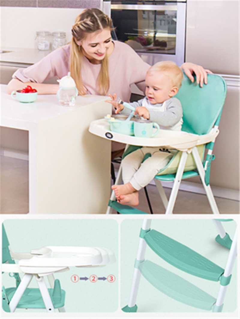 Baby Dining Chair To Eat Collapsible Portable Multi Function Baby Seat Dining Table Chair Children Dining Chair Buy At The Price Of 83 70 In Aliexpress Com Imall Com