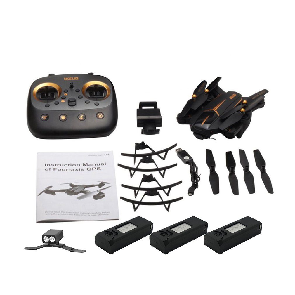 XS812 RC Drone 4K Drones 2.4G Remote Control Toy with WiFI FPV Camera Helicopter Follow Me Foldable Aircraft VS F11 SG906