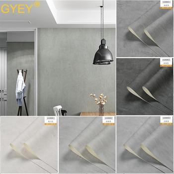 10 м скандинавский цемент серый обои Чистый Простой промышленный ветер чай магазин ресторан бар ресторан магазин одежды обои