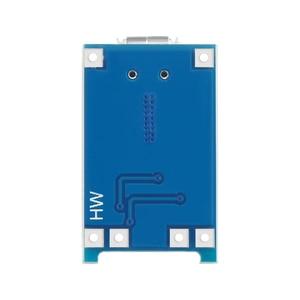Зарядная плата TP4056 для литиевой батареи, 5 В, 1 А, Micro USB 18650, модуль зарядного устройства + Двойная функция защиты, 5 шт.