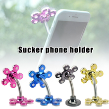 Rotatable Multi-Angle Double-Sided Phone Holder Suction Cup Stand Bracket Car Styling universal rotatable car holder phone stand bracket suction cup