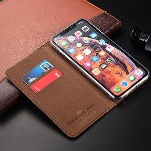 Image 5 - יוקרה אמיתי עור טלפון מקרה עבור iPhone 12 מיני iPhone12 Coque יען סגנון כיסוי מקרה עבור iPhone 12 פרו מקסימום 5G 2020 Coque