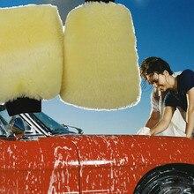 Новая плюшевая микрофибра Mitt Автомойка рукавицы моющие перчатки чистящие кисти инструменты перчатки для чистки автомобилей для мытья автомобилей