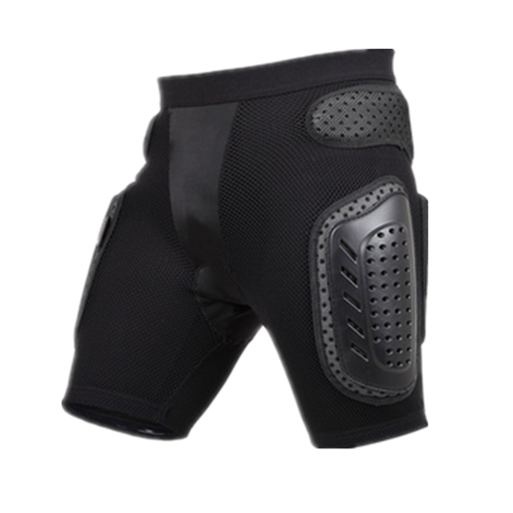 PROPRO Black Motorcycle Shorts Men Anti drop Armor Gear Hip Butt Support Protection Motocross Hockey Snowboard Ski Protect Pants in Shorts from Automobiles Motorcycles