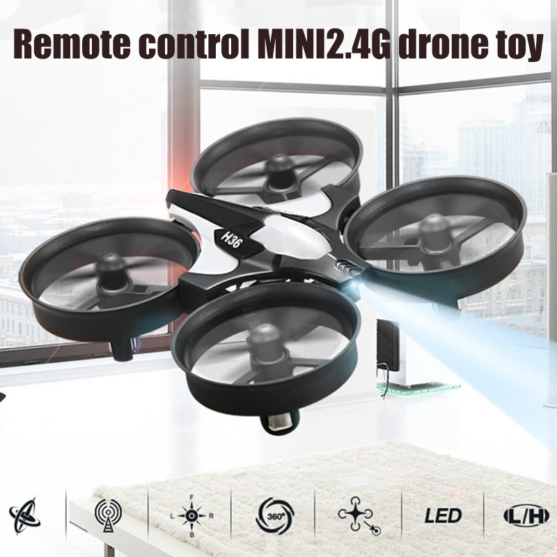 Hot Selling Quadcopter 2.4G Mini Drone Remote Control Free Rotating Headless Mode Aircraft With LED Light For Kids