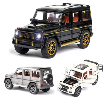 1:24  Mercedes Benz G63 AMG Car Model Alloy Car Die Cast Toy Car Model Pull Back Children's Toy Collectibles Free Shipping