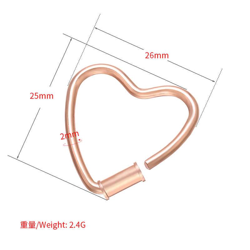 Zhukou 25X26 Mm Messing Hart Bedels Goud/Zilver Kleur Kleine Hanger Voor Diy Sieraden Maken Armband Ketting connector Model: VD690