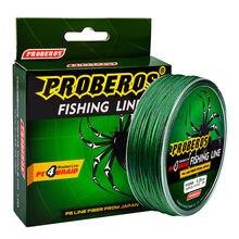 4 нити 100 м супер прочная плетеная леска для рыбалки 6 100lb