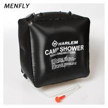 Сумка для ванной menfly на 40 л с солнечной батареей большая
