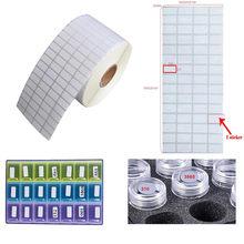 2000pcs adesivi classificazione diamante conservazione distinguere adesivi per etichette accessori per pittura diamante strumenti per ricamo