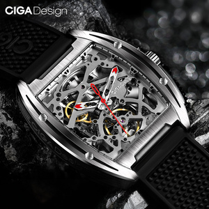Image 2 - Original CIGA Design Z Series mens smart watch clock Automatic Mechanical Watch Self wind Wrist Watches smartwatch