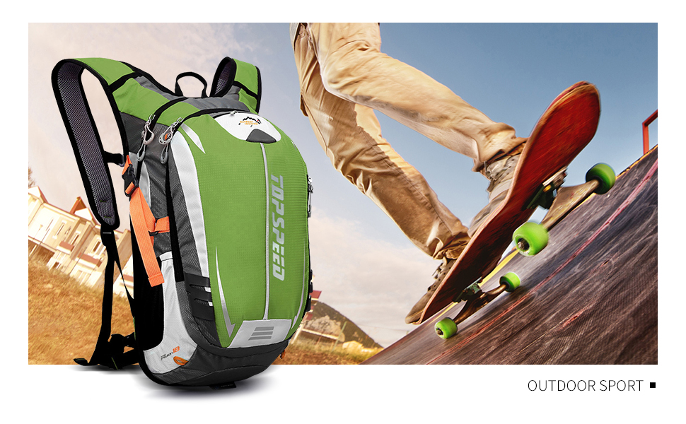 18L Ultralight Outdoor Sports Backpack for Climbing, Hiking, Running, Cycling, Hydration, Waterproof