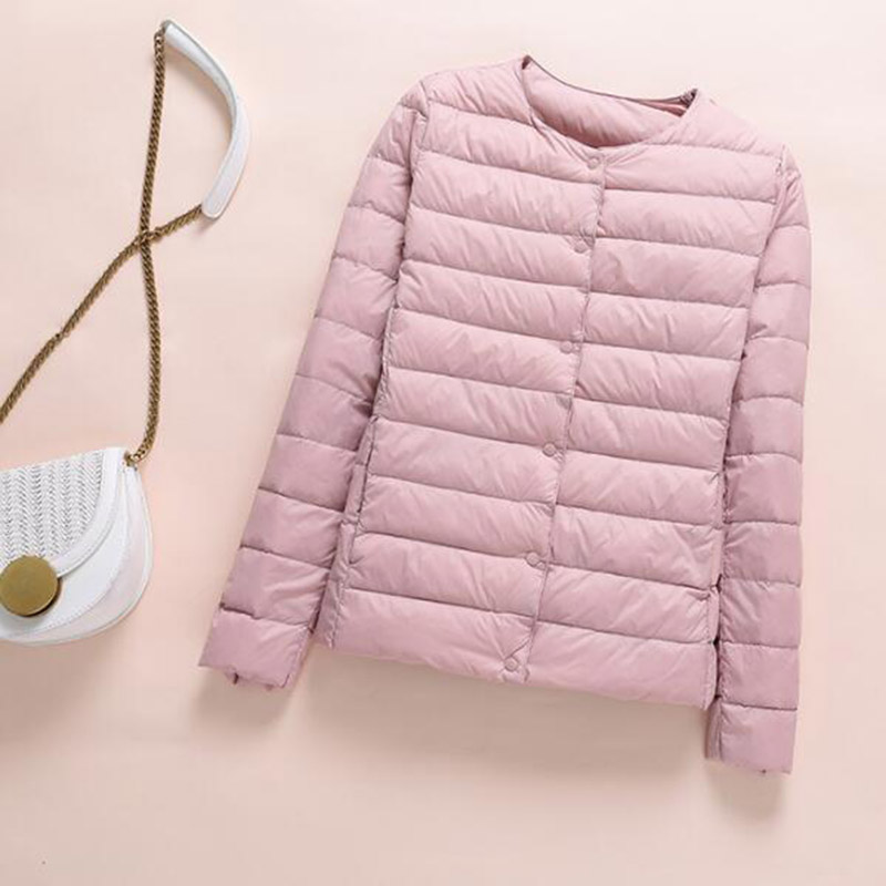 SEDUTMO Winter Plus Size 4XL Women Duck Down Jacket Ultra Light Short Coat Autumn Slim Thin Puffer Jacket ED872