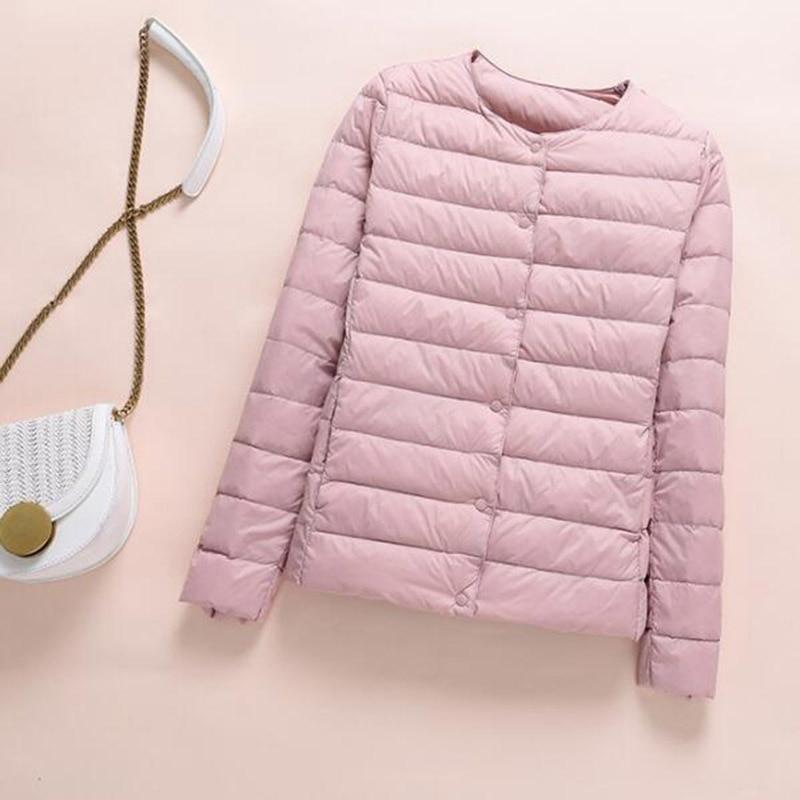 SEDUTMO Winter Plus Size 4XL Women Duck Down Jacket Ultra Light Short Coat Autumn Slim Thin Puffer Jacket ED872
