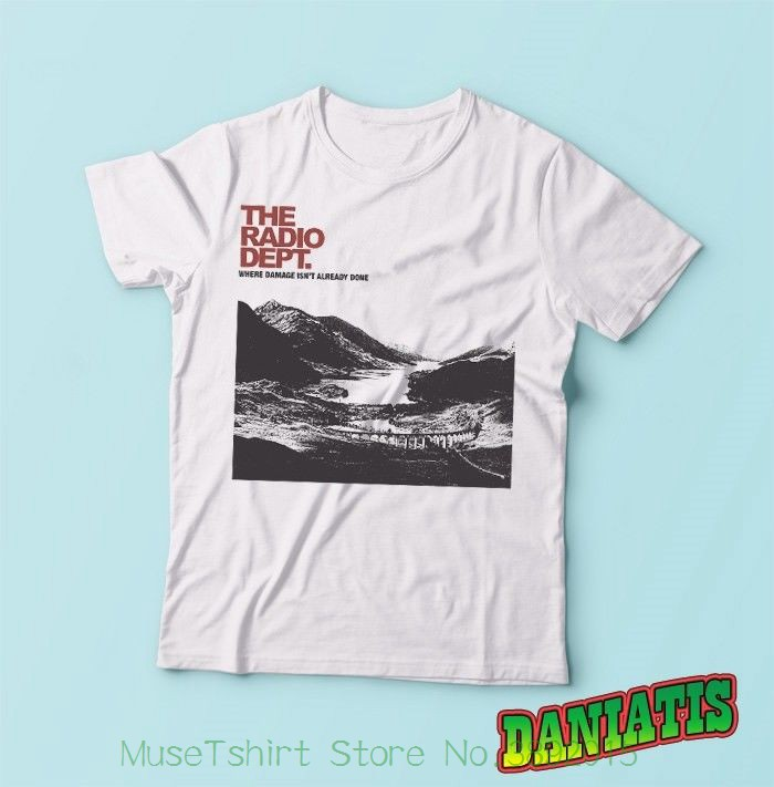 T-Shirt The-Radio Garden From-Lund Memory Pop-Band Dept-Dream Printed Xl