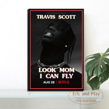 Canvas Painting Posters Decorative Mom Prints-Pictures Wall Travis Vintage Art Scott-Look