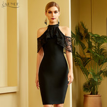 Adyce 2021 Новое летнее Кружевное облегающее Бандажное платье