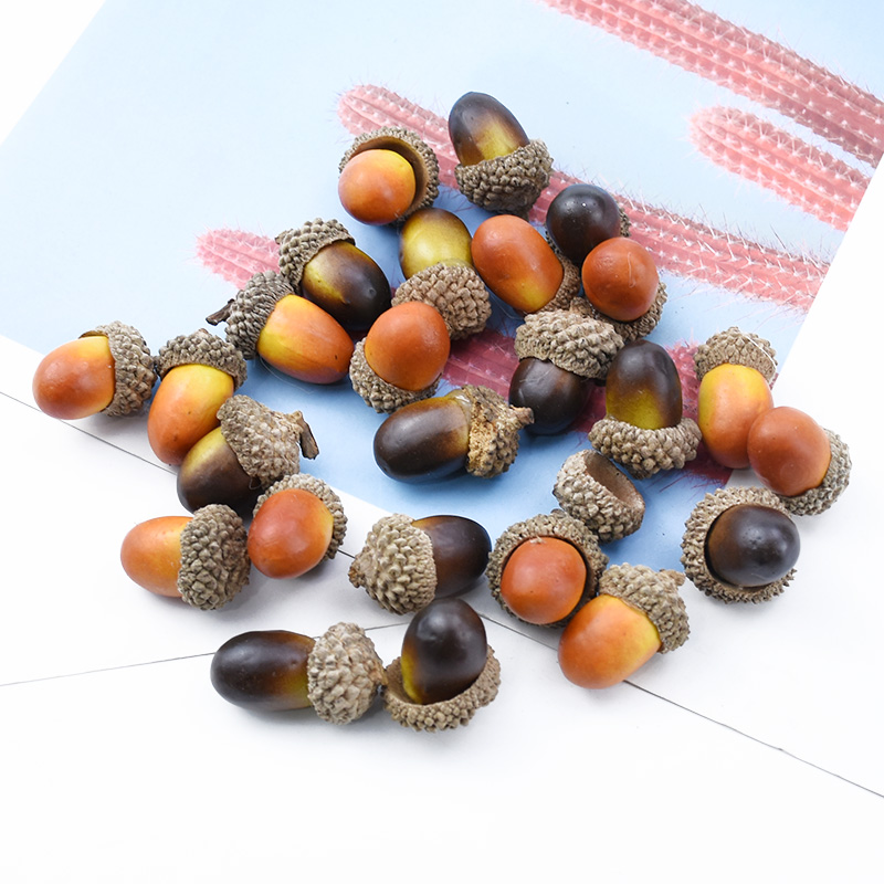 10/30 Pieces Artificial Pine Cones Fake Plants Diy Gifts Box Christmas Decoration For Home Scrapbook Wedding Festival Supplies