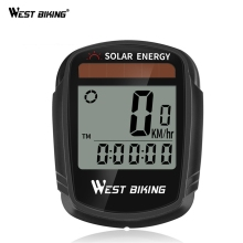 WEST BIKING Bike Cycling Bicycle Computer For Bike Cycling Computer Wireless Waterproof Speedometer Bicycle Goods Accessories bryton rider 530 gps cycling computer enabled bicycle bike computer and bryton mount waterproof wireless speedometer