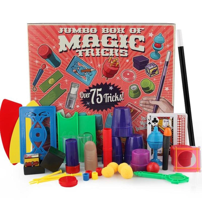 Chidlren Magic Toys Set Simple Magic Props Variety Poker Game Magic Beginner Parent-child Interactive Toys Gift