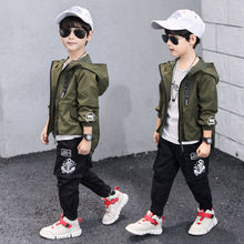 hot sale baby boys clothes sets 3-13 years old spring and au