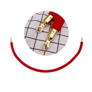 Image 3 - 1.5m noël barrière corde Halloween contrôle des foules corde avec crochets Stanchions hôtel barrières pour la maison Bar Party (sans support)