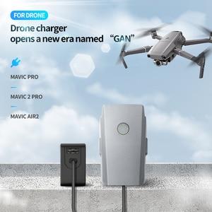 Image 2 - TELESIN GaN 65W Sạc Nhanh PD QC 3.0 Cho GoPro Osmo Hành Động Cho DJI MAVIC Air 2 Pro macbook iPhone Samsung Drone Sạc