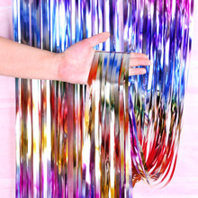 2M 3M Dazzling Sequin Backdrop Stand Bachelorette Birthday Party Decorations Adult Mariage Foil Curtain Wedding Magic Drapes