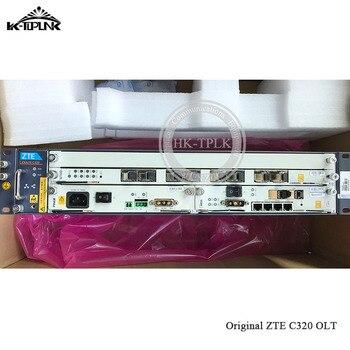 شحن مجاني 10GE GPON OLT C320 ZTE OLT SMXA/3 بطاقة * 1 قطعة مع 1 * عربة 8 منافذ GTGO GPON C + مجلس التيار المتناوب + تيار مستمر امدادات الطاقة
