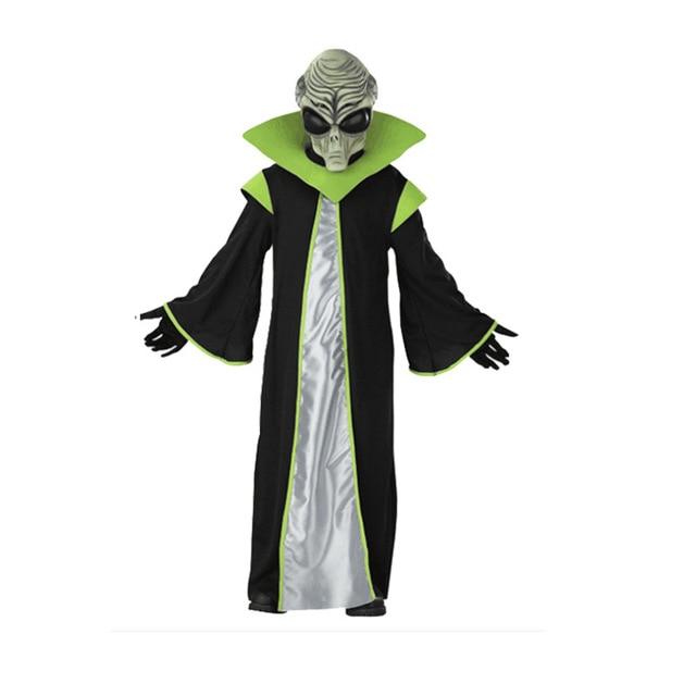 ALIEN COMMANDER Halloween Costume FREE STANDARD SHIPPING
