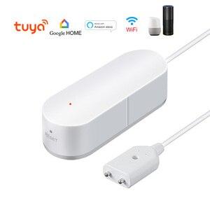 Image 5 - QOLELARM alarma inteligente con WIFI para el hogar Detector de fugas de agua, Notificación por aplicación, alarma con Sensor de agua, seguridad en el hogar