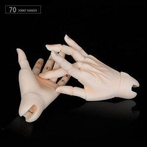 Image 3 - BJD Соединенные руки подходит для 1/3 или 1/4 bjd куклы для мальчиков и девочек тело IOS IP ID72 R72 Sd17 DS SD Feeple