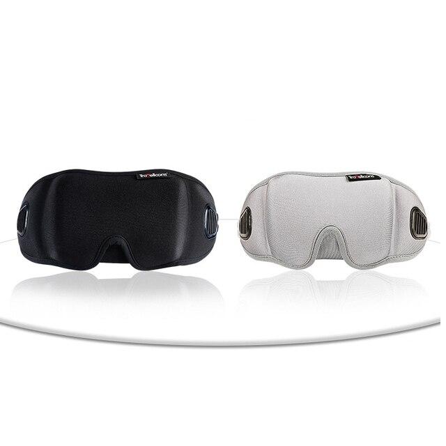 High-Grade Fabric EyeShade Portable Sleeping Eye Mask Eyepatch Padded Shade Cover Eye Mask Night Rest Blindfold Sleep Bandage 4