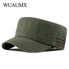 Hats Military-Hats Army-Cap Sailor Women Flat-Top Fatigue Summer Patrol Unisex Cotton