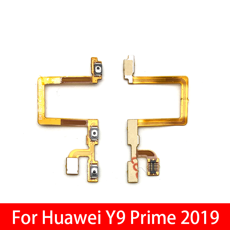 Volume Button Power Switch On Off Button Flex Cable For Huawei Y9 Prime 2019 Side Button