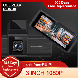 Car DVR MINI Smart DVR Dash Camera Rear View Video Recorder 3