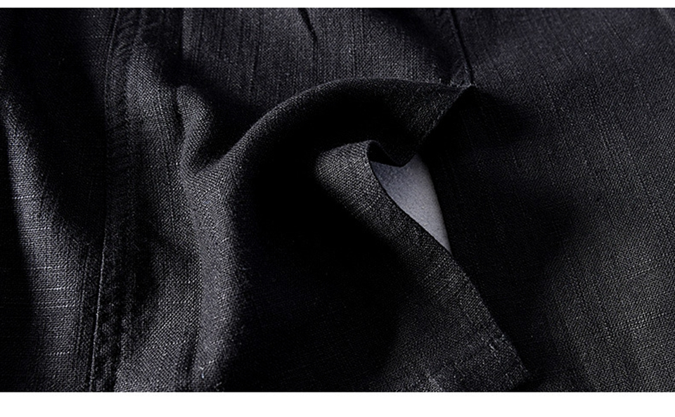 Hdd1cd76803674231b16d9b8b49d41005M - 55% Linen 45% Cotton Breathable Anti-static Cool Man Suit Jacket Quality Casual Male Spring Autumn Single Breasted Men Blazer