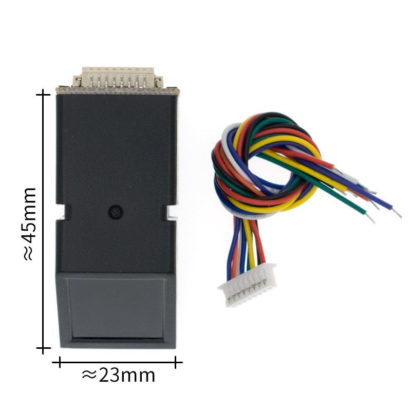 As608 módulo de sensor leitor impressão digital óptico módulo impressão digital para arduino fechaduras comunicação serial interfac