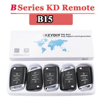 (5PCS/LOT)B15 KEYDIY  remote control 3 button B series for KD900 URG200 KD200 make new key - sale item Security Alarm